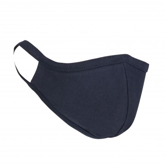 Mundschutz-Maske Blau aus Stoff