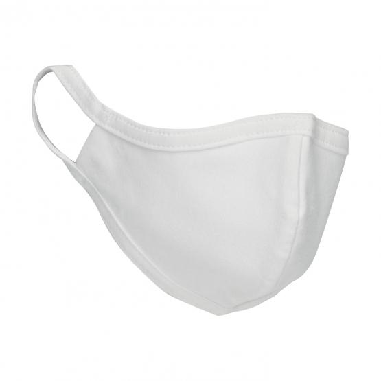 Mundschutz-Maske Weiss