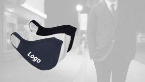 Business Stoff Mundschutz Maske