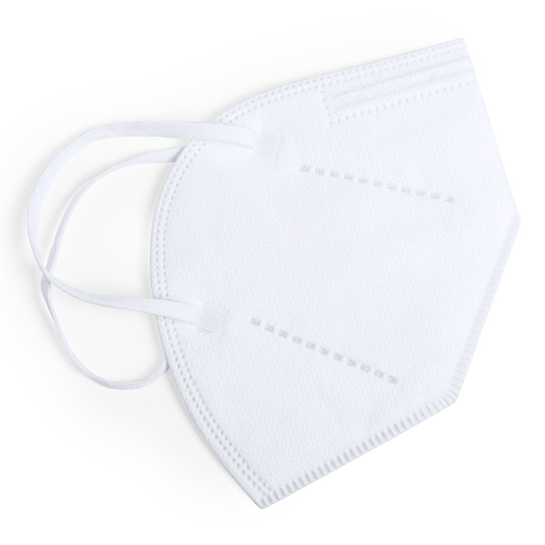 Farbige FFP2 Maske Weiß