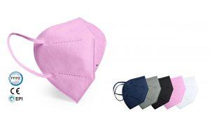 Farbige FFP2 Mundschutz Masken